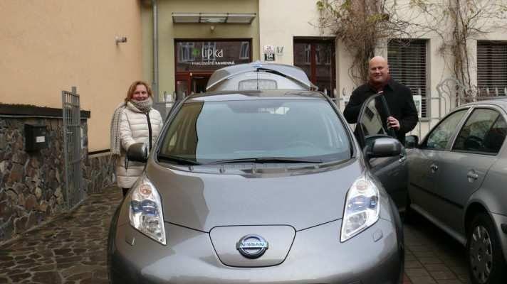 Lipka si pořídila nový elektromobil