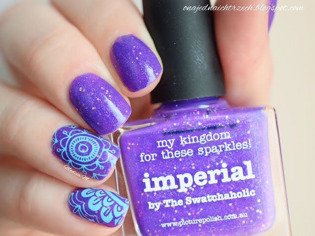 #PicturePolish #Imperial #nailart Picture Polish Imperial