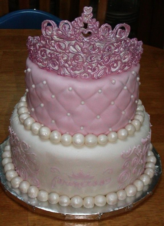 Princess Cake - Practice Cake - just wanted to try a ...