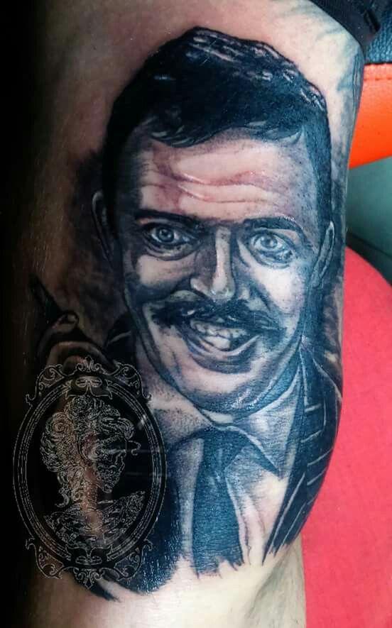 Gomez addams tattoo