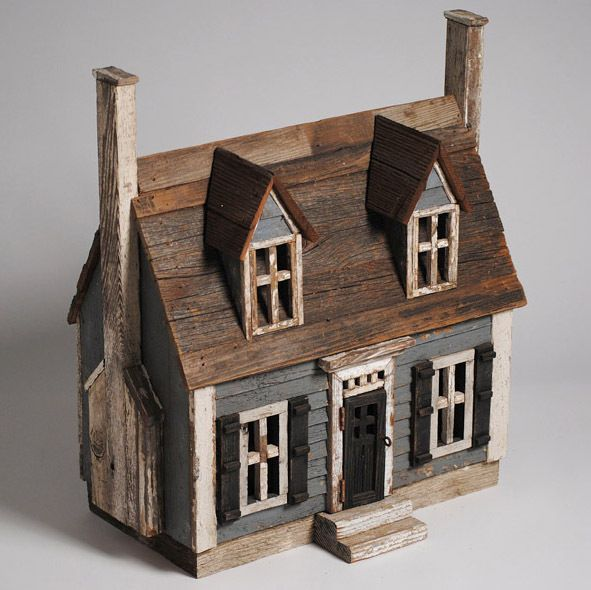 new england cape cod miniature architectural wood folk