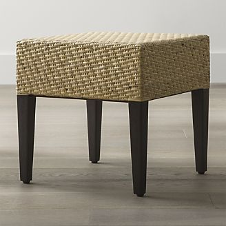 Intricately Woven Natural Rattan Peel Seat Takes This Mango Wood Stool  Straight To The Tropics With A Classic Look That Works In Any Room.