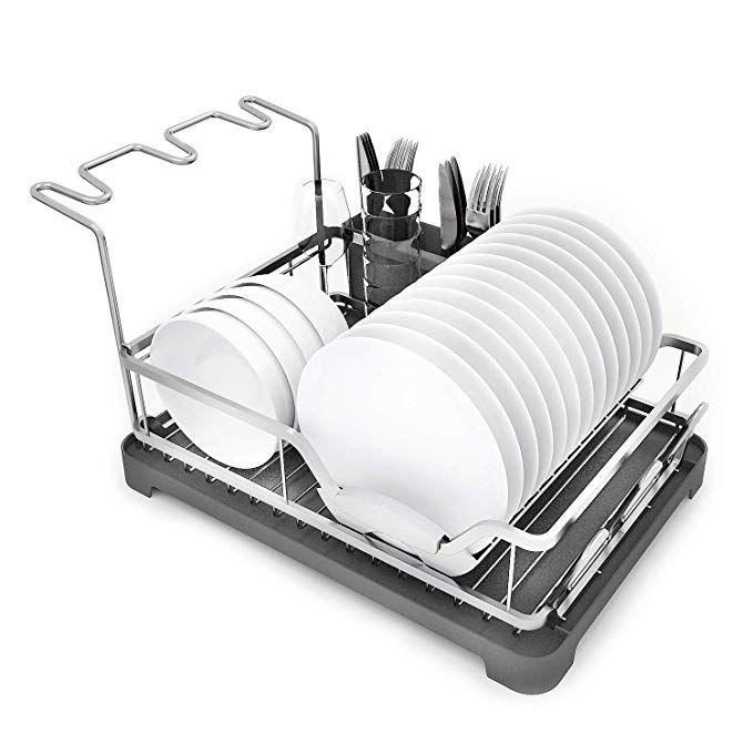 dish rack aluminum dish drying rack