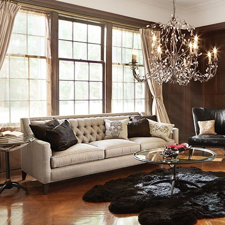 Best Sofas Images On Pinterest Tufted Sofa For The Home And - Tufted upholstered sofa