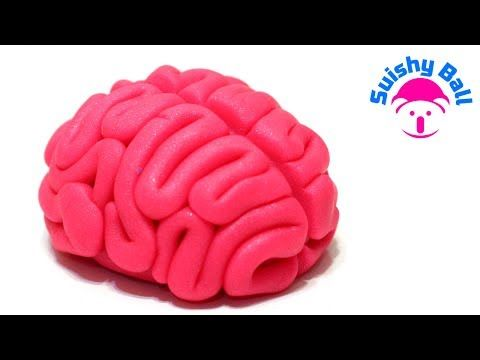 Polymer Clay Tutorial: Brain Kawaii DIY - YouTube