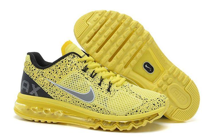 Nike Air Max 2013 CAMO Männer Gelb Grau