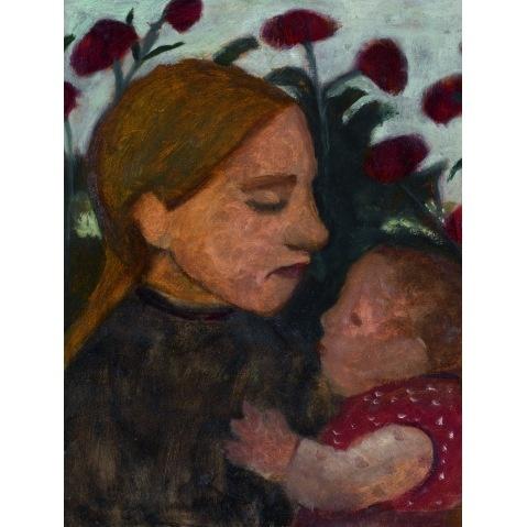 Paula Modersohn-Becker, Mädchen mit Kind