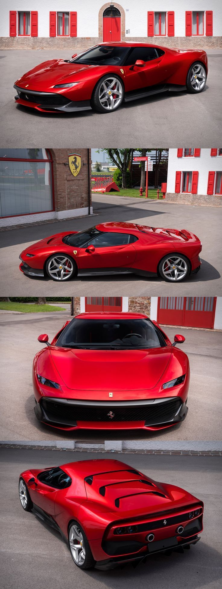 Pay the parking fines of this Ferrari and it can be yours