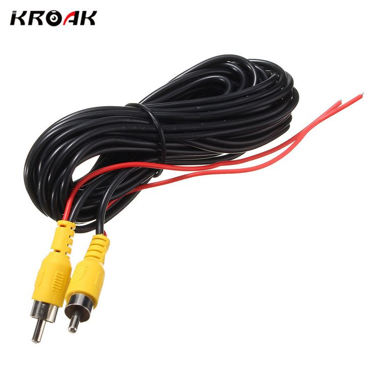 6M 2RCA Male to Male AUX Audio Cable Cord HiFi Speaker Video AV Cable For Car Rear Camera DVD CD Player TV Box #Affiliate