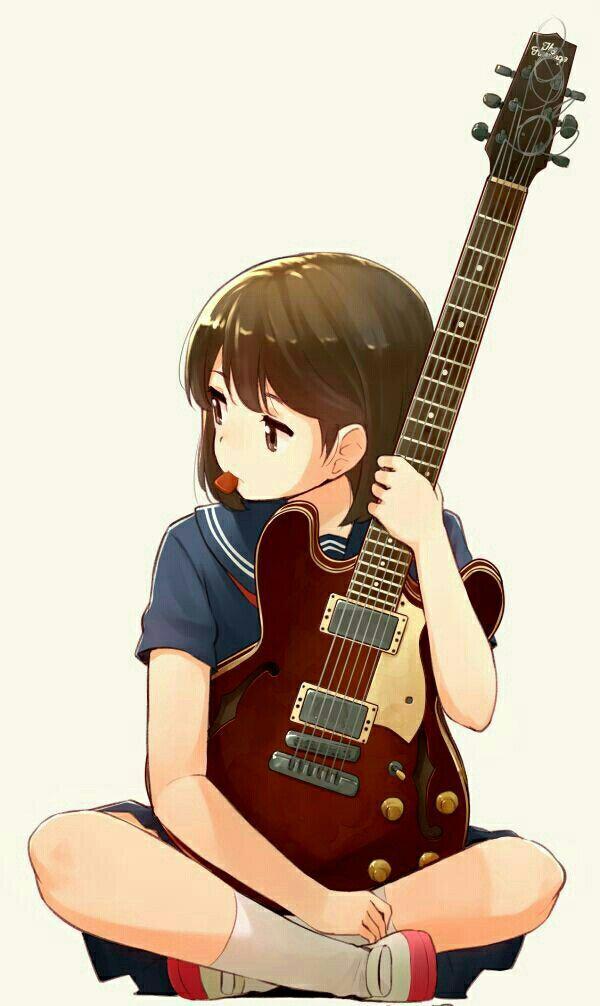 Guitar Girl Anime Anime Characters Anime Art Girl Anime