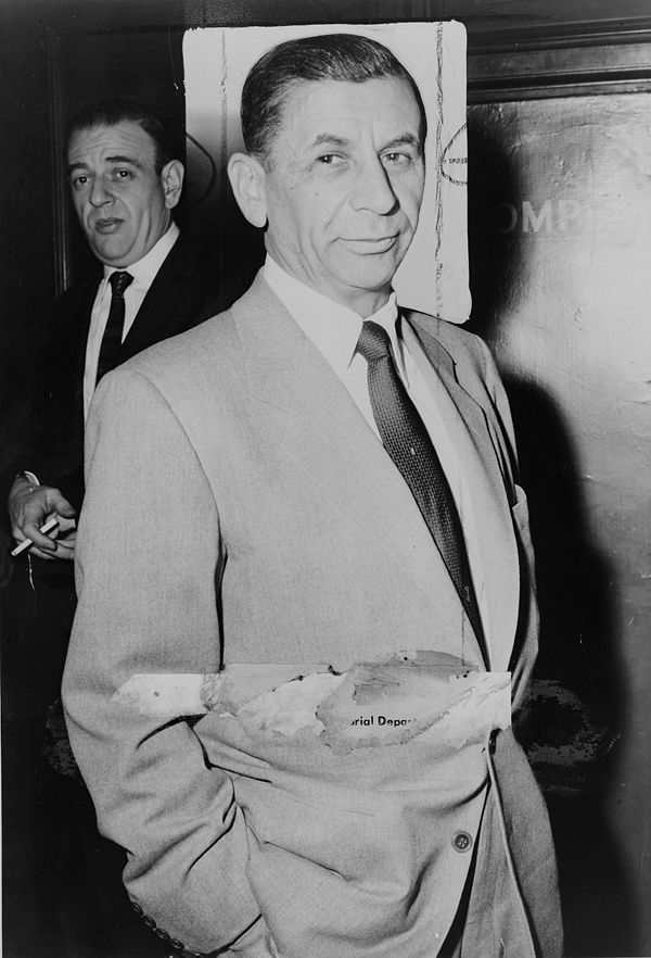 Meyer Lansky, illegal gambling empire,  The Godfather was based on him