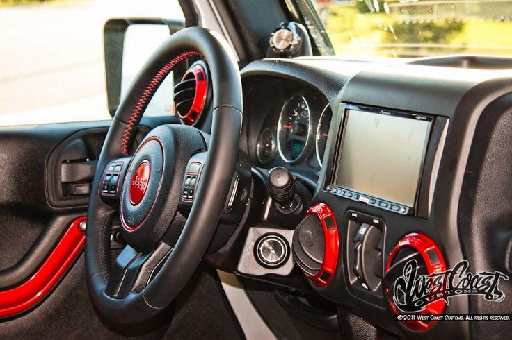 Custom interior jeep wrangler google search for - Jeep wrangler unlimited interior lights ...