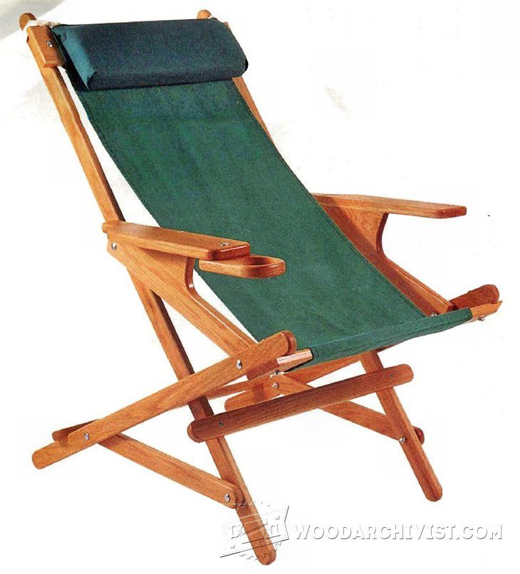 Rocking Recliner Plans - Outdoor Furniture Plans & Projects   WoodArchivist.com