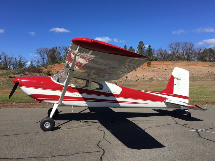 1955 Cessna 180 Skywagon For Sale In Placerville Ca