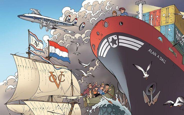 Project Ei heeft uiteindelijk een naam gekregen: Op zoek naar Zeeland. 80 pagina's dik, 10 grote themaprenten en een paar honderd foto's en tekeningen. Dit fragment komt uit het hoofdstuk Maritieme Geschiedenis...  Het boek Op zoek naar Zeeland is inmiddels ook verkrijgbaar: http://www.vandankerjan.nl/boeken/40-op-zoek-naar-zeeland-9789071937248.html