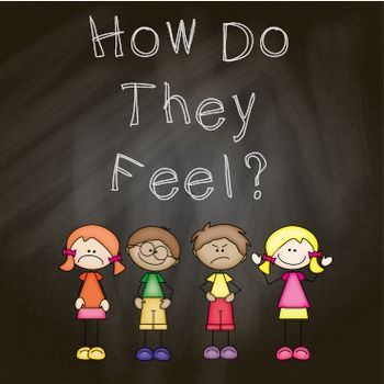 """How do they Feel?"" FREE printable book to help children identify the emotions that other people might be feeling."