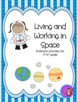 This packet provides 6 activities that enhance a study of the space exploration program.  Students can make their own rocket, learn about the retired STS and complete writing activities that challenge the student to consider life as an astronaut.  This packet is ideal for 1st-3rd grade students.This packet was also designed to fulfill badge requirements for the Living and Working in Space badge for the American Heritage Girl program.