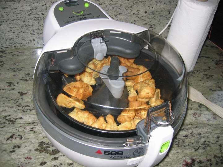 Bugnes dans la friteuse actifry : ça marche !