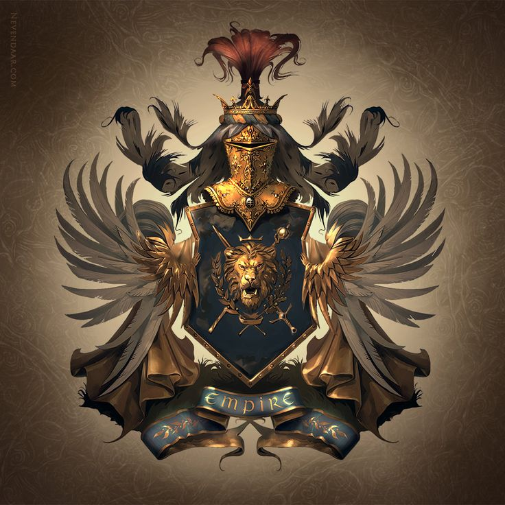 Картинки гербов фэнтези