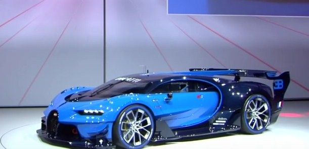 Hypercar Bugatti 2016