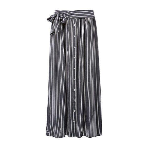 Mer enn 25 Bra ideer om Striped Maxi Skirts på Pinterest | Maxiskjørt