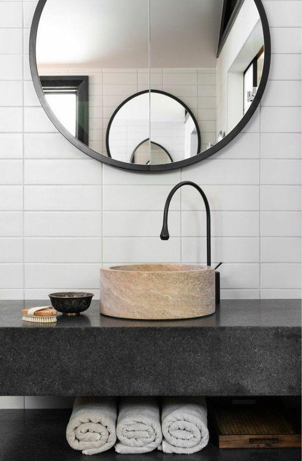 Die besten 25+ Modernes badezimmerdesign Ideen auf Pinterest - lampen f rs badezimmer