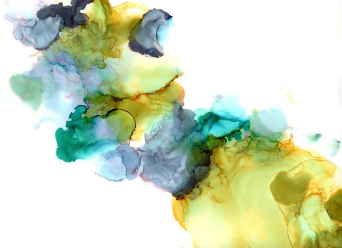 Alcohol Ink Abstract Art Giclee Print Large Abstract Wall Art Modern Painting Contemporary Art Minimalist Meditation Art Zen Baby' Room by therawcanvas on Etsy