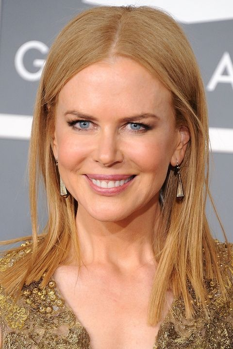 Here's what happens when Hollywood's golden manes are splashed with just the right amount of red: Nicole Kidman.