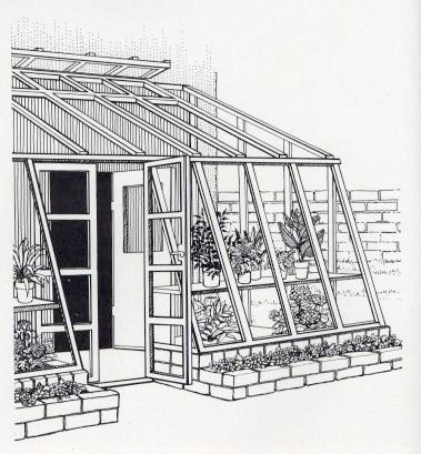 Attached Greenhouse Plans | Free DIY Solar Greenhouse Plans