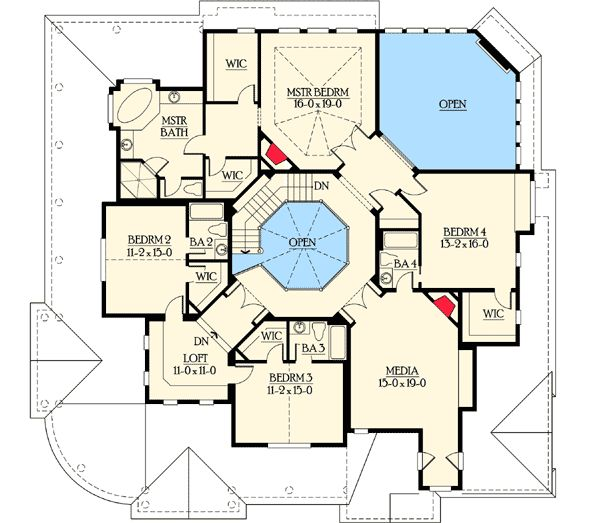 Awesome 17 Best Images About House Plans On Pinterest Mansion Floor Largest Home Design Picture Inspirations Pitcheantrous