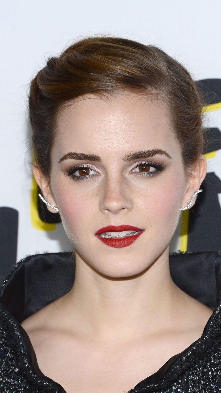Emma Watson Beautiful Eyes Makeup 720x1280 Wallpaper