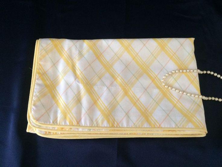Pillowcase Sham Yellow White Stripe Martha Stewart Standard Size ONE #MarthaStewart #Contemporary