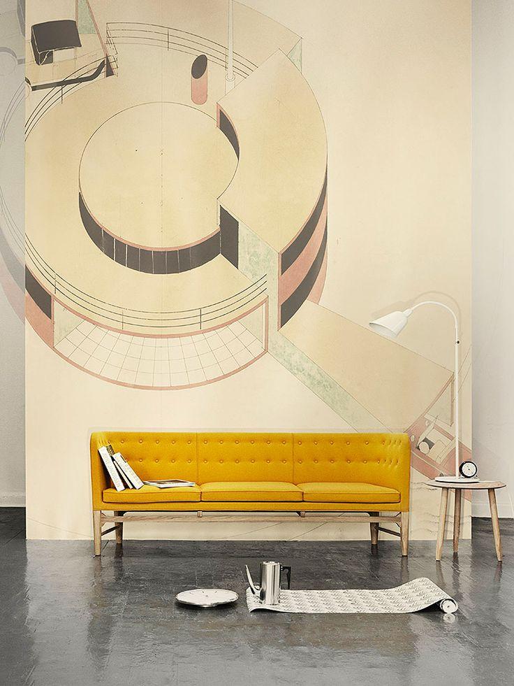 Mayor Sofa Designer: Flemming Lassen, Arne Jacobsen / &TRADITION - refêrencias | Arkpad