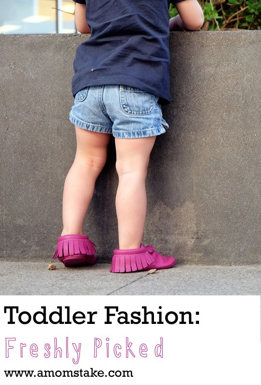 My kids love their Freshly Picked moccasins, such an easy and cute shoe for kids!