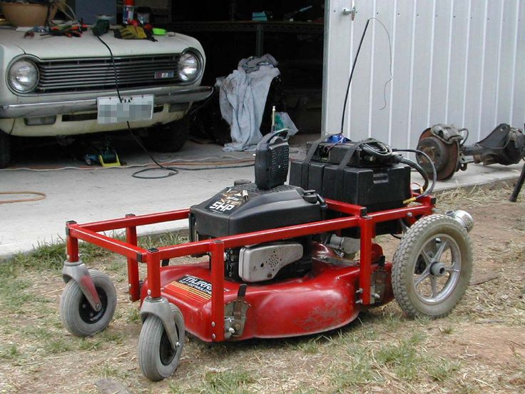 RC Lawn Mower!!!