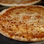 Dennis Malloy's homemade pizza