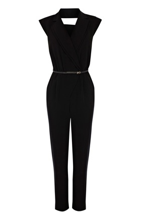 Belted Jumpsuit at Warehouse