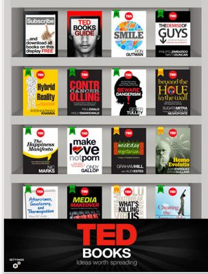 TED Books App is Now Available for iPad for Free