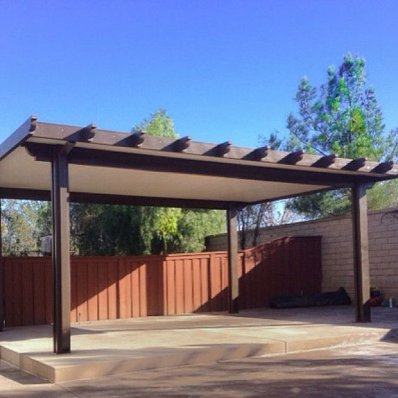 Freestanding Alumawood Patio Covers : Best patio cover images on pinterest arbors arbor