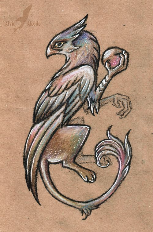 Wizard griffin by AlviaAlcedo.deviantart.com on @deviantART