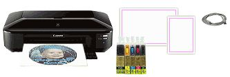Edible Printer Systems: Edible Ink Printers, Cartridges and Paper - want the large format printer!