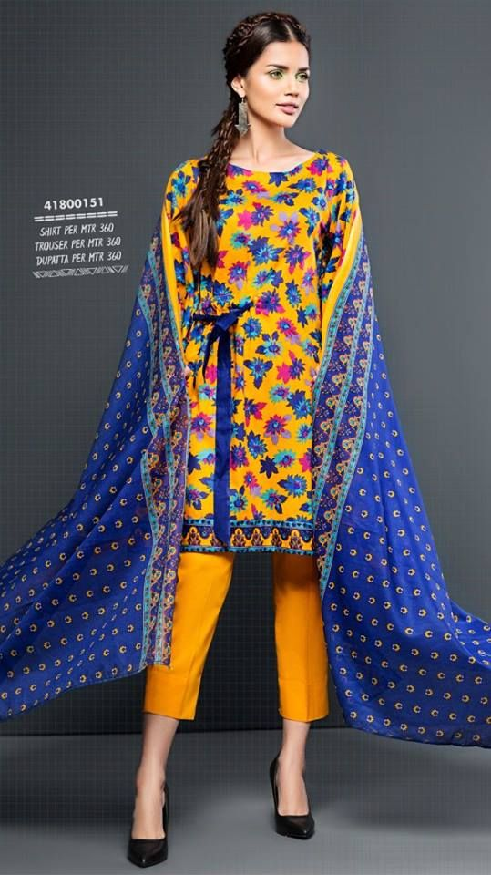 3e26084ebb1 Nishat Linen Freedom to Buy Spring Summer Collection 2018
