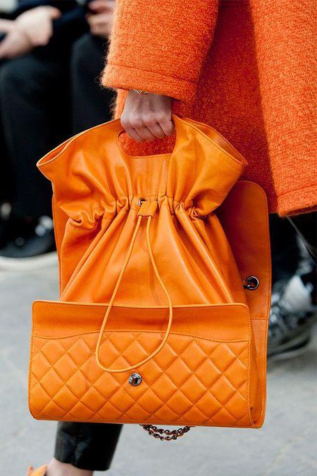 Oranje tas!