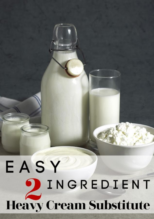 How To Make A Homemade Heavy Cream Substitute Recipe In 2020 Heavy Cream Substitute Homemade Heavy Cream Cooking Substitutions