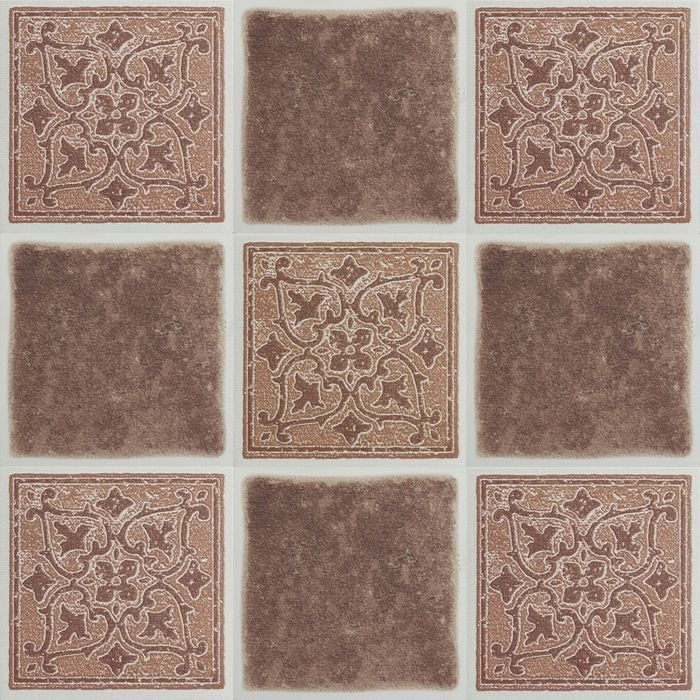 4x4 Vinyl Tile Peel And Stick Terracotta 4x4 Vinyl Wall