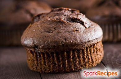 1 minute low carb chocolate muffin Recipe via @SparkPeople