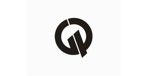 The name of this company is GPQ. Interesting how they were able to get all three letters designed into the logo this way. Very innovative!