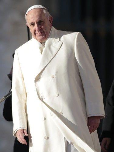 Paus Franciscus best geklede man van 2013 volgens Esquire.