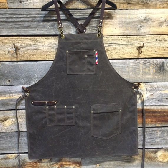 barber apron by sartorandvillain on Etsy                                                                                                                                                                                 More