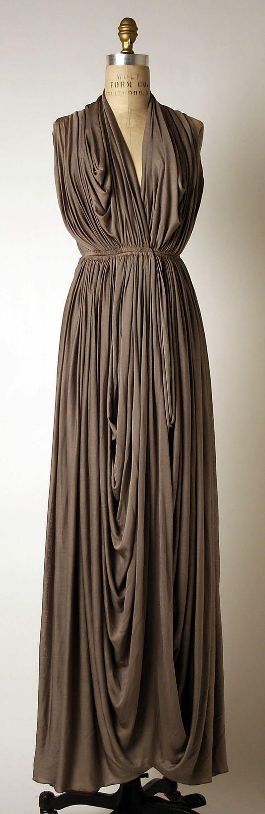 Dress, Evening | Madame Gres 1937